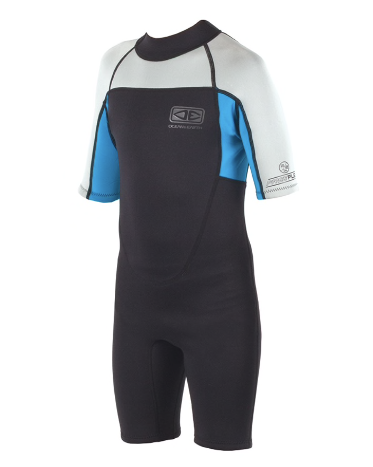 Boys Back Zip Free-Flex Spring Suit