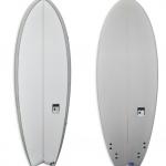 Grey Fish quad fun board | Classic Malibu