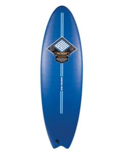 Navy Ezi Rider Softboard Fish
