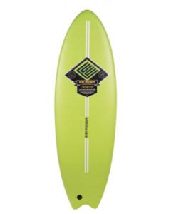 Green Ezi Rider Softboard Fish
