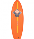 Orange Ezi-Rider Softboard Fish