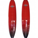 Red Polished Performance Longboard
