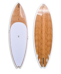 "8'6"" Bamboo SUP White"