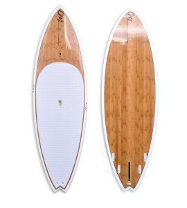 """8'6"""" Bamboo SUP White"""