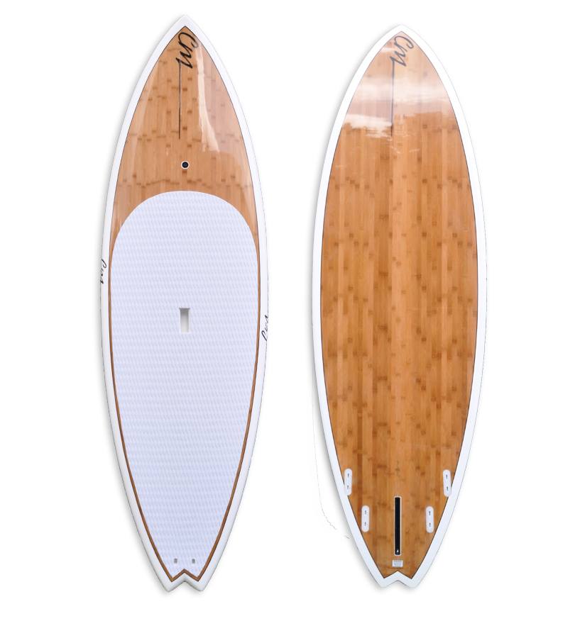 Bamboo Clothing Noosa: Bamboo Epoxy Stand Up Paddle Board