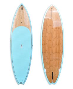 "9'3"" bamboo sup light blue"