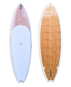 "9'3"" SUP Bamboo White"