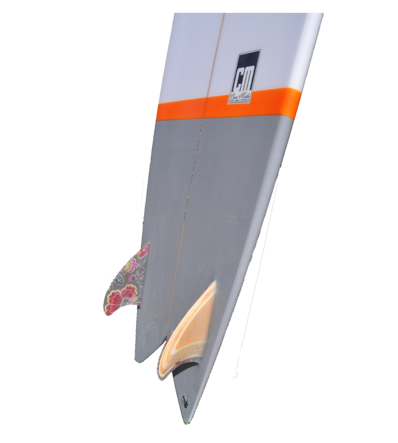 Fish CM302 Tail with Glassed Fins