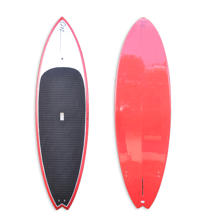 "9'6"" SUP RED Epoxy"
