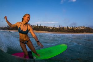 Kirra Molnar Surfing Classic Californian at Sunshine Beach
