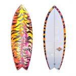 Tiger Fish Surfboard