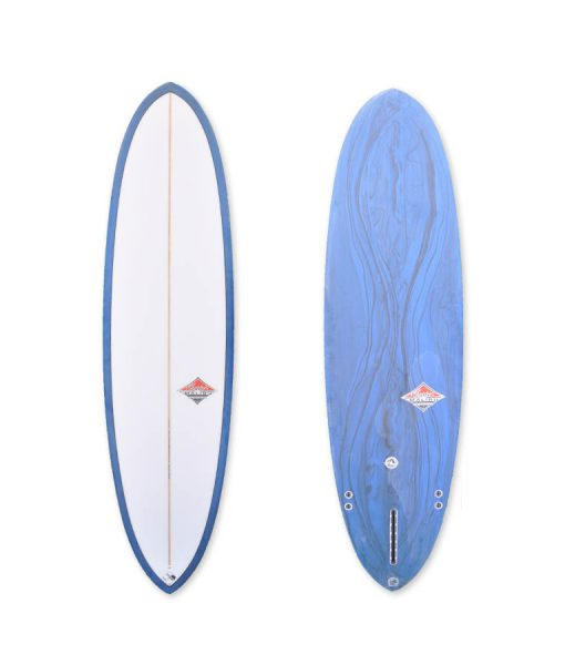 Camel Mid-Length Model Surfboard