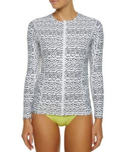 Oceana Ladies Zip Rashie