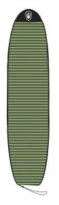 "FK Stretch Cover 8'6"" Green & Grey Stripe"