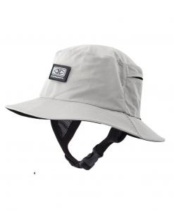 Mens Bingin Soft Peak Surf Hat - Grey