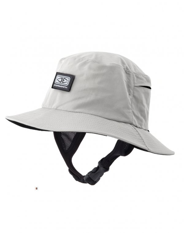 Mens Bingin Soft Peak Surf Hat – Grey