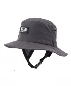 Mens Bingin Soft Peak Surf Hat - Black