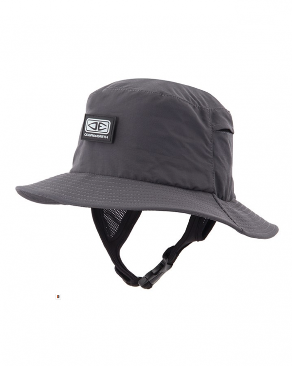 Mens Bingin Soft Peak Surf Hat – Black