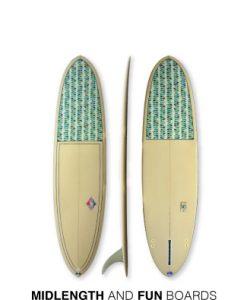 Mid-Length & Fun Boards