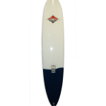 4567 Pigments Gallery Mount Surf NZ. Allrounder longboard with 2+1 fin setup & white and navy pigments.