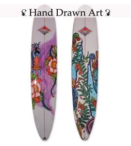 Hand drawn art. gallery