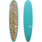 Ladies Single Fin Fabric Inlay