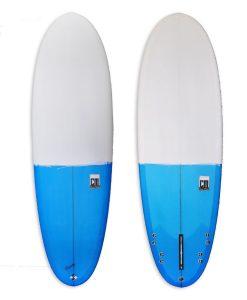 White & Blue Sunny Side Up Cm95