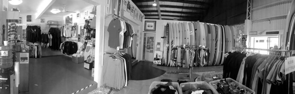 Classic Malibu Shop Panorama