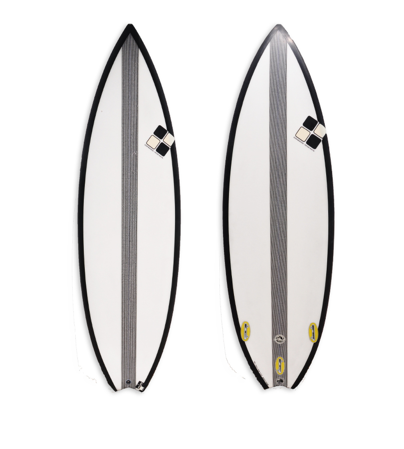 Epoxy Shortboard with Carbon cm316