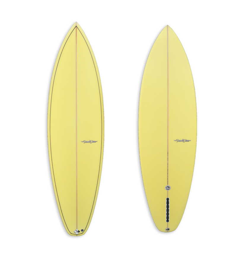 Yellow Single Fin