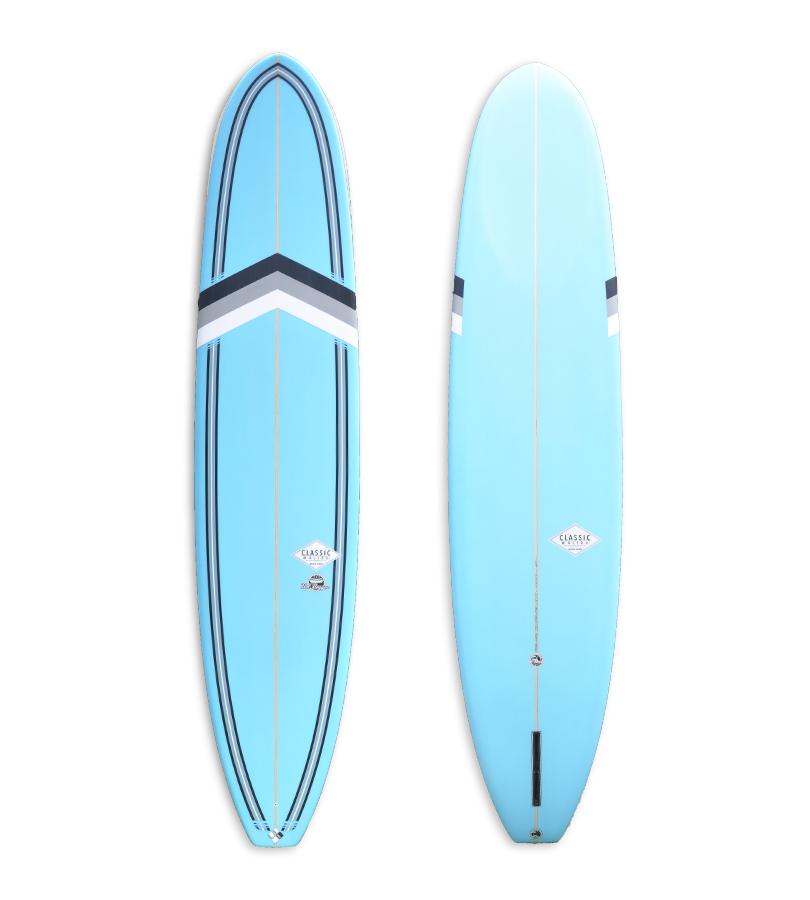 Blue Hotdogger Longboard CM402