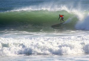 Kirra Molnar Surfing Noosa Logger Competition