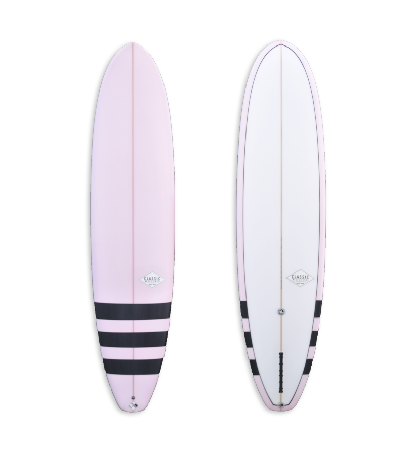 Purple Single Fin CM510