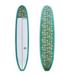Noserider Longboard with Unique Squid Tail