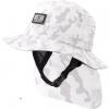 Mens Indo Stiff Peak Surf Hat - Camo