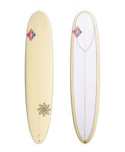 Classic Malibu - Honolua Log Yellow