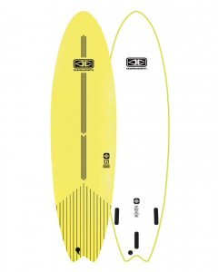 Lime 7ft Softboard