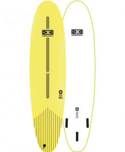 "7'6"" lime Ezi rider softboard"