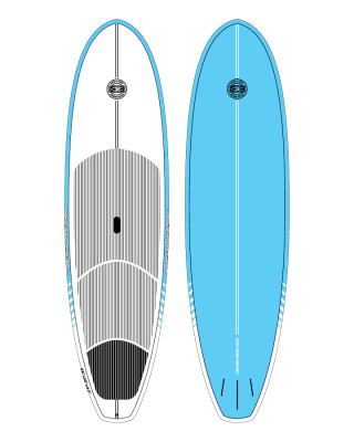 Classic Malibu - Ocean & Earth 10ft SUP Cruiser Blue
