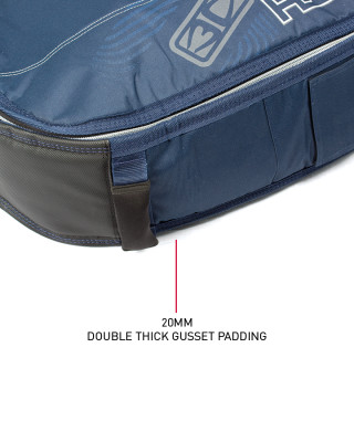 Classic Malibu - Double Coffin Shortboard : Fish Padding