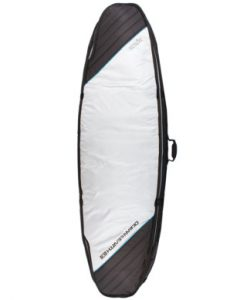 Double Wide Shortboard COver Silver