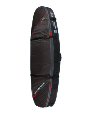 Classic Malibu - Quad Coffin Shortboard : Fish SCSB07