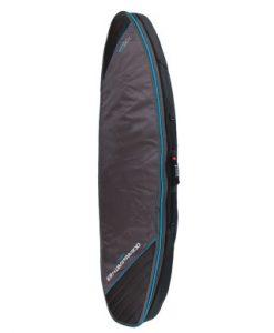 Triple Compact Shortboard Cover Black-Blue