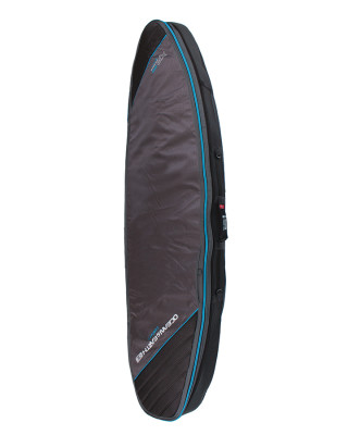 Classic Malibu - Triple Compact Shortboard Cover Black-Blue