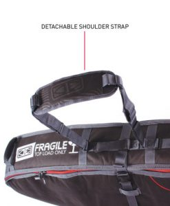 Classic Malibu - Triple Wheel Shortboard : Fish Cover Strap